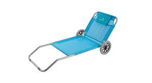 Strandliege mit rollen  Strandliege mit Rollen - Beach Trolley