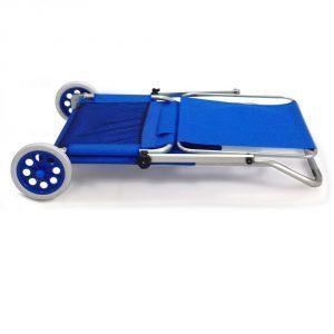 Strandliege mit rollen und dach  Strandliege mit Rollen - Beach Trolley